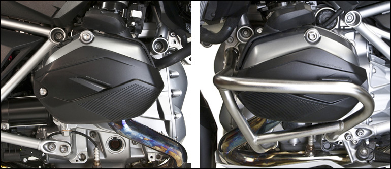 X-Head cylinder guards, or crash bars, or both? - machineart moto
